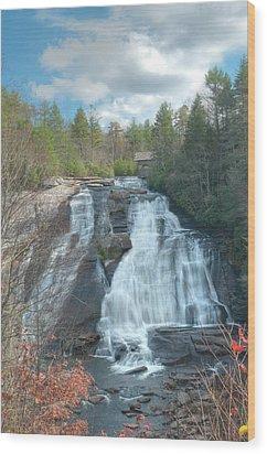 High Falls-dupont State Park Wood Print