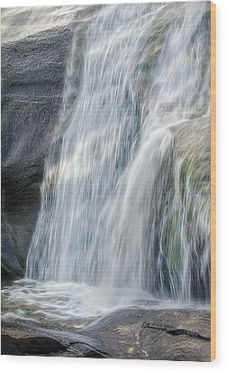 Wood Print featuring the photograph High Falls Three by Steven Richardson