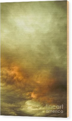 Wood Print featuring the photograph High Pressure Skyline by Jorgo Photography - Wall Art Gallery