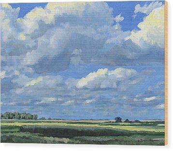 High Summer Wood Print by Bruce Morrison