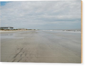 Hilton Head Island Beach Wood Print