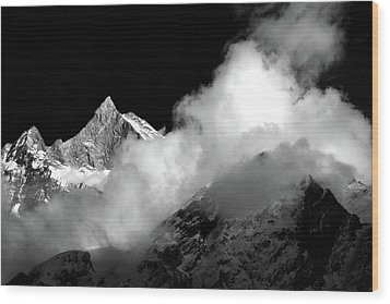 Himalayan Mountain Peak Wood Print