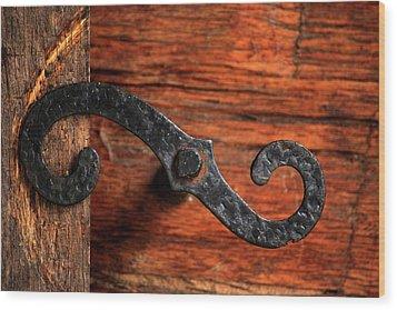 Hinged Wood Print by Rowana Ray
