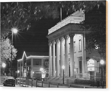 Hippodrome At Night  Wood Print