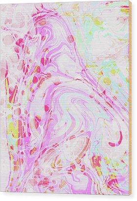 Hiraeth Wood Print by Uma Gokhale