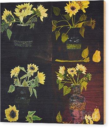 Hirasol Wood Print