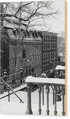 Wood Print featuring the photograph Historic Bethlehem Pa by DJ Florek