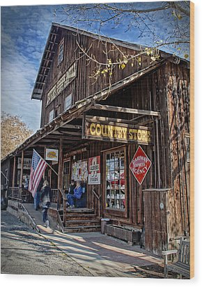 Historic Butte Creek Mill Wood Print by Mick Anderson