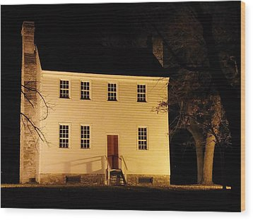 Historic Carter Mansion  Wood Print
