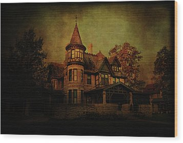 Historic House Wood Print by Joel Witmeyer