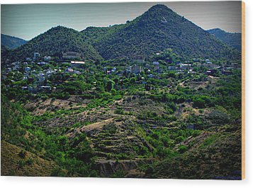 Historic Jerome Arizona Wood Print