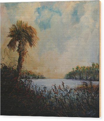 Historic Palm Wood Print by Michele Hollister - for Nancy Asbell