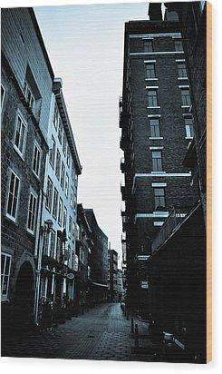Historic Walk Wood Print by Mark Highfield