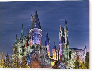 Hogwarts Wood Print by Danny Price