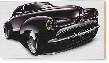 Holden Concept Car Wood Print by Brian Gibbs