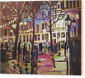 Holland Nights Wood Print by Brian Simons