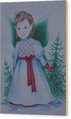 Holly Wood Print by Tiina Rauk