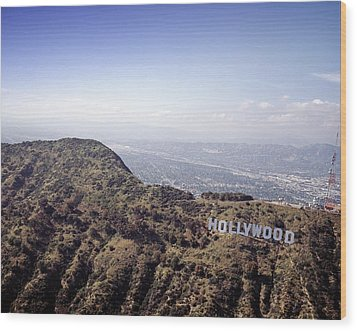 Hollywood Sign, Built Ca. 1923 By Mack Wood Print by Everett