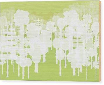 Holy Vale Wood Print