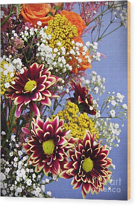Wood Print featuring the photograph Holy Week Flowers 2017 4 by Sarah Loft