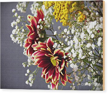 Wood Print featuring the photograph Holy Week Flowers 2017 5 by Sarah Loft