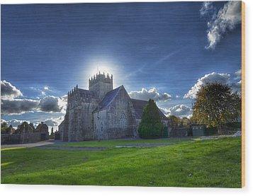 Holycross Halo Wood Print