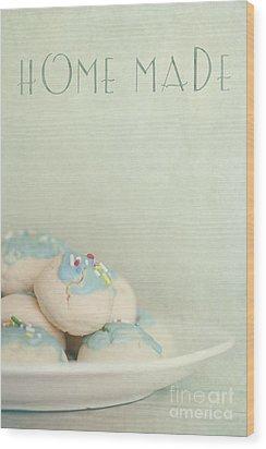 Home Made Cookies Wood Print by Priska Wettstein