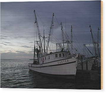 Wood Print featuring the photograph Home Port by Nancy Taylor