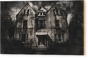 Home Wood Print by Torgeir Ensrud