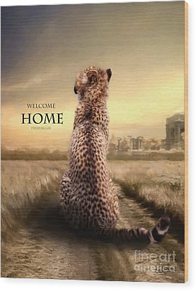 Wood Print featuring the photograph Home2 by Christine Sponchia