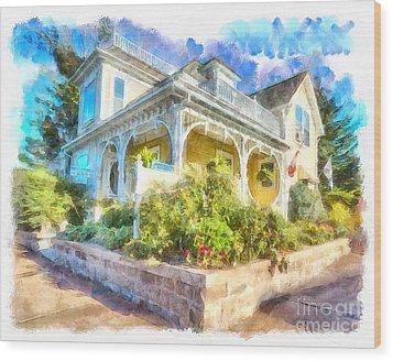 Home,sweet Home Wood Print