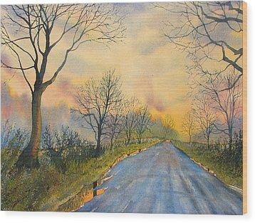Homeward Bound For Kilham Wood Print