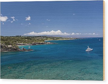 Honolua Bay Wood Print