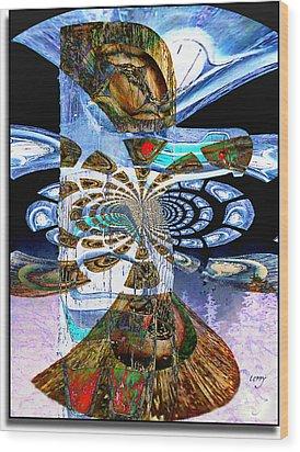 Hoonah Totem Wood Print