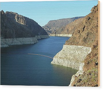 Wood Print featuring the photograph Hoover Dam In May by Emmy Marie Vickers