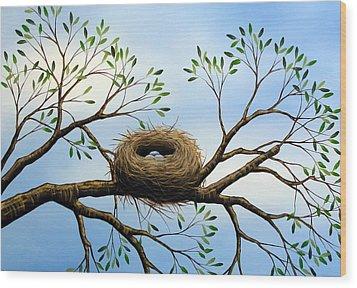 Hope Wood Print by Amy Giacomelli