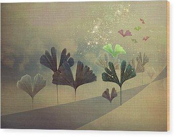 Hope Wood Print by AugenWerk Susann Serfezi