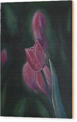 Wood Print featuring the painting Hope by Geeta Biswas