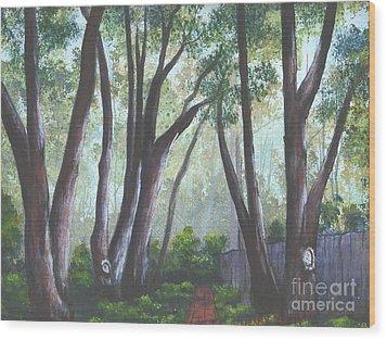 Hopeland Garden Pathway Wood Print