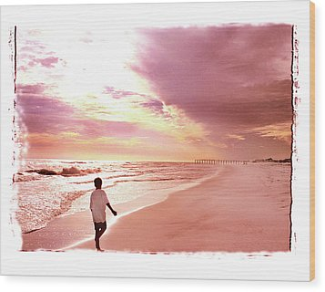 Wood Print featuring the photograph Hope's Horizon by Marie Hicks