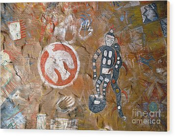 Hopi Dreams Wood Print by David Lee Thompson