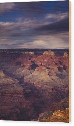 Hopi Point - Grand Canyon Wood Print by Andrew Soundarajan