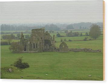 Wood Print featuring the photograph Hore Abbey by Marie Leslie
