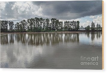 Wood Print featuring the photograph Horizon Line by Bill Thomson
