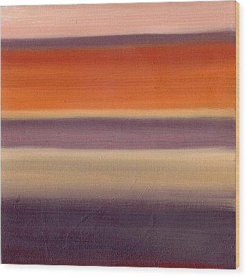 Horizontal Moods Wood Print by Emily Freiman