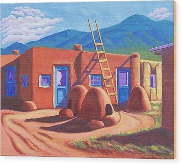 Horno De Pan Taos Wood Print