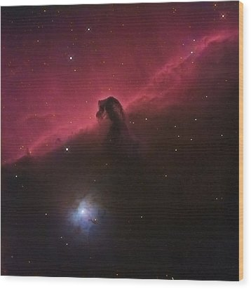 Wood Print featuring the photograph Horsehad Nebula II by Charles Warren