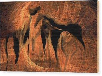 Horses 5 Wood Print