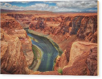 Horseshoe Bend Arizona - Colorado River #2 Wood Print by Jennifer Rondinelli Reilly - Fine Art Photography