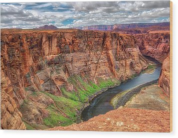 Horseshoe Bend Arizona - Colorado River #5 Wood Print by Jennifer Rondinelli Reilly - Fine Art Photography